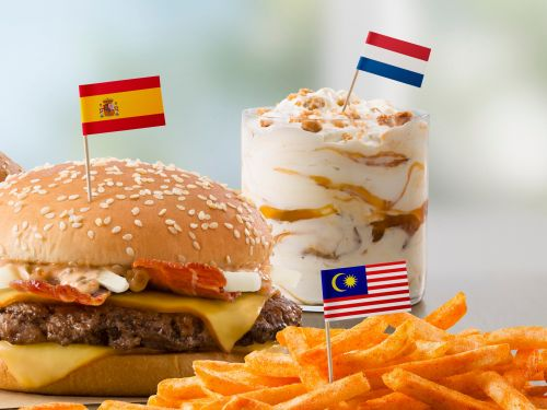 Leaked documents show that McDonald's is adding international hits to its American menu, including a Spanish Grand McExtreme Bacon Burger and a Dutch Stroopwafel McFlurry