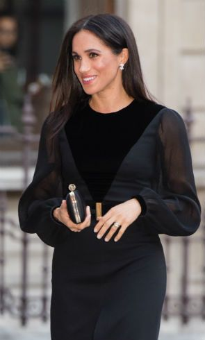 Solo style: Meghan Markle looks incredible in Givenchy gown