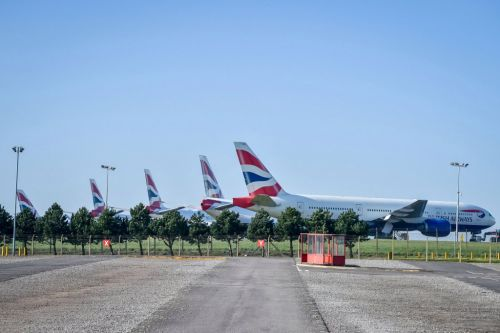 British Airways stops flights to and from Gatwick Airport during coronavirus crisis