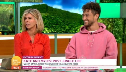 I'm A Celeb's Myles Stephenson reckons Caitlyn Jenner's already 'blocked' their numbers