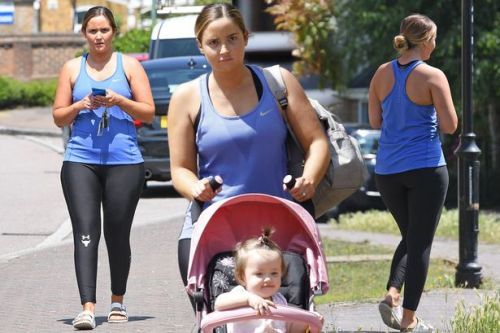 Jacqueline Jossa hits the gym after it's revealed she could join I'm A Celeb