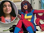 Iman Vellani, 18, is 'speechless and excited' to play MCU's first Muslim superhero Ms. Marvel