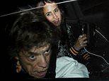 Mick Jagger and Melanie Hamrick spotted leaving Rolling Stones concert with Ronnie and Sally Wood
