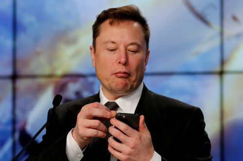 Elon Musk tweeted a 'diamond hands' meme as bitcoin and other cryptocurrencies continue to crash