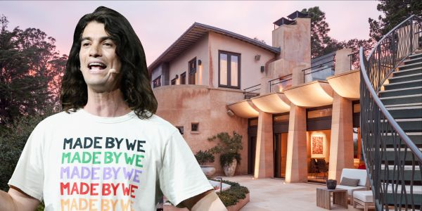 WeWork cofounder Adam Neumann is selling his San Francisco Bay Area compound for $27.5 million - look inside the 'Guitar House'