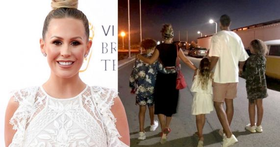 Kate Wright gave up TV fame to help Rio Ferdinand's kids cope with mother's death