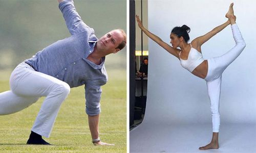 7 royals who practise yoga to inspire you