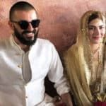 In Picture: Hamza Ali Abbasi & Naimal Khawar married