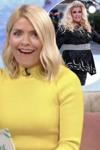 Holly Willoughby hits out at 'unprofessional' Gemma Collins after she arrives late to Dancing On Ice and NAPS backstage