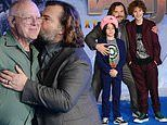 Jack Black kisses dad on red carpet as he makesJumanji 2 premiere a family affair with his kids