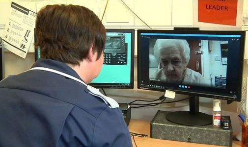 Video calls for the elderly are helping reduce strain on stretched NHS