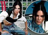 Kendall Jenner cuts an edgy figure as she stars in two smoldering covers for W Korea's latest issue