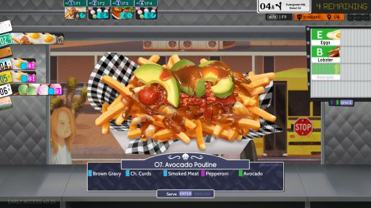 Drive a food truck across post-apocalypse America in Cook, Serve, Delicious 3