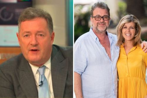 Piers Morgan says news of Kate Garraway's husband Derek waking from coma 'is not positive' and recovery is 'uncertain'
