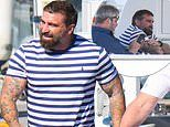 Ant Middleton joins Channel Seven's CEO and top executives on board Kerry Stokes' superyacht