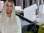 Katie Price enlists help from ex Kieran Hayler to clean her 'mucky' garden