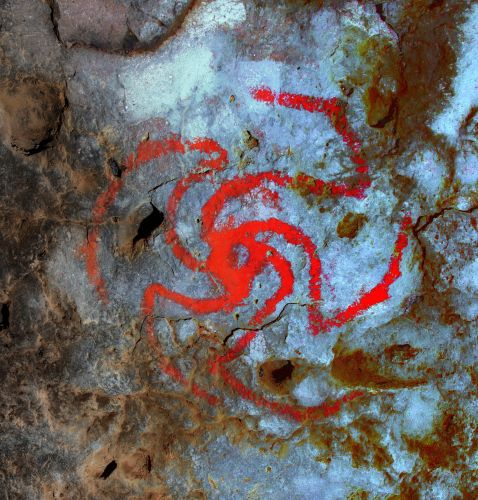 A discovery inside a California cave suggests people were combining hallucinogenic drugs and art nearly 500 years ago