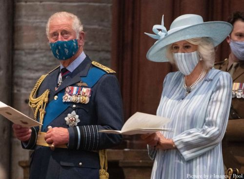 The Prince of Wales and the Duchess of Cornwall mark Battle of Britain anniversary