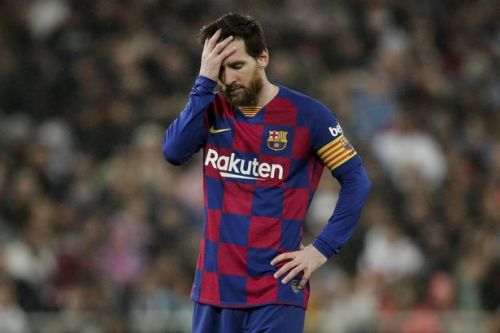 Lionel Messi in fresh Barca blast as world superstar reveals 70 per cent pay cut