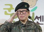 Transgender tank driver cries as she pleads to be allowed to stay in the South Korean army