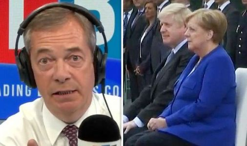 Farage delivers shock Brexit prediction after Boris-Merkel meeting - 'It'll be a disaster'