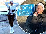 Vanessa Hudgens posts selfies from Scotland while filming Princess Switch amid pandemic