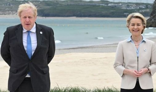 Boris hosts G7 BBQ - but after furious Brexit row one item is suspiciously off the menu