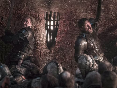 'Game of Thrones' star Nikolaj Coster-Waldau says he couldn't see what was happening in the Battle of Winterfell episode either: 'It was really dark'