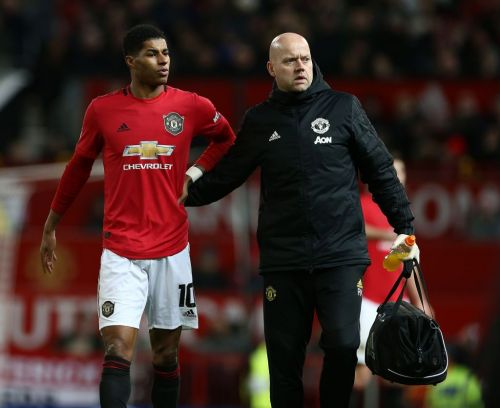 Ole Gunnar Solskjaer rates Marcus Rashford's chances of facing Liverpool