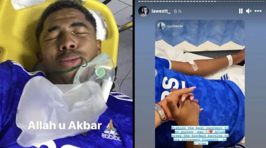 Brutal extent of Wesley Fofana's leg injury reported
