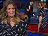 Drew Barrymore shows off secret ability while promoting new talent competition series on chat show