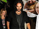 Russell Brand and his author wife Laura Gallacher raked in £1.4m