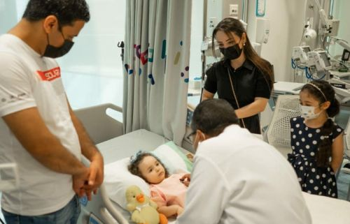 Baby With Spinal Muscular Atrophy Receives An AED8 Million Treatment Funded By Dubai Ruler