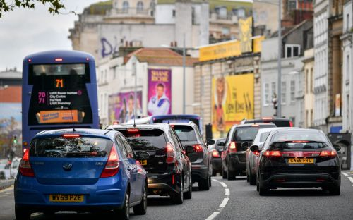 Students warned they are most at risk of breathing in toxic air, as Bristol study finds they live in the city's most polluted areas
