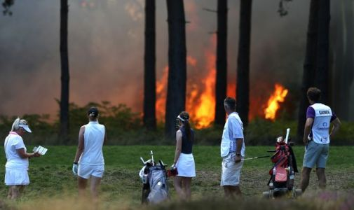 Fire at Wentworth forces suspension of Rose Ladies Grand Final