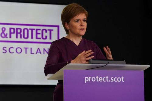 Nicola Sturgeon announces new lockdown rules for all of Scotland