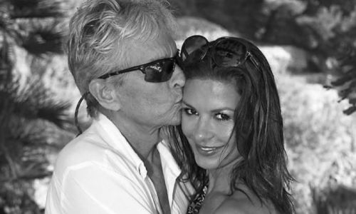 Catherine Zeta-Jones receives incredible birthday tribute from husband Michael Douglas