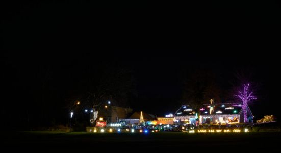Local man decorates Moray bungalow with 'breath-taking' Christmas lights display in aid of charity