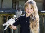 A very modern flapper girl! Elizabeth Cook is a champion pigeon racer