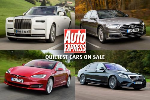 The quietest cars on sale 2019