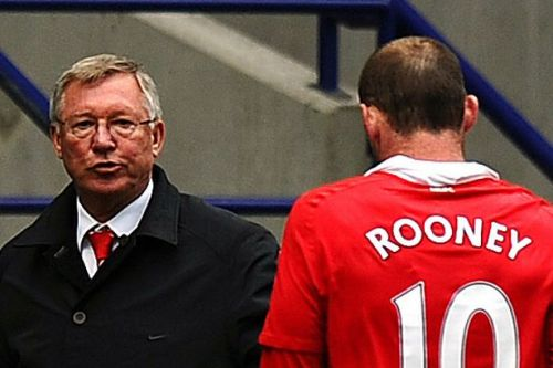 What Sir Alex Ferguson said when he learnt Wayne Rooney wanted to leave Manchester United in 2010