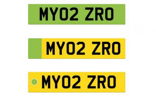 RAC 'not impressed' by government's green number plates for electric cars plan