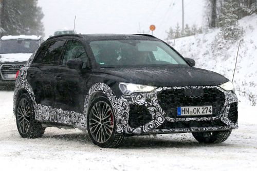New Audi RS Q3 caught on camera