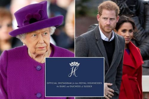 Meghan Markle and Prince Harry will drop Sussex Royal brand after 'Queen ban'