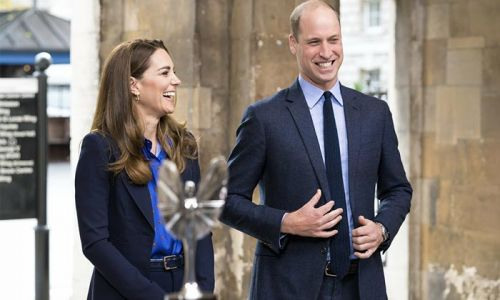 Prince William and Kate 'can't thank NHS heroes enough' as they present Pride of Britain award