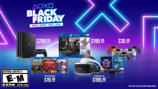 Sony reveals its official Black Friday PS4 and PS4 Pro deals - with top games from $20