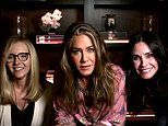 Jennifer Aniston, Courteney Cox and Lisa Kudrow reunite at-home for the Emmys