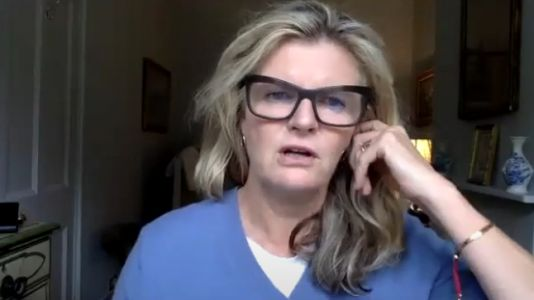 Susannah Constantine apologises after threatening to 'kill cyclists and go die in jail' in 'insensitive' video