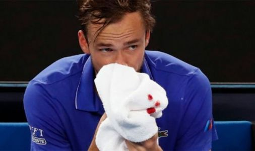 Daniil Medvedev overcomes nosebleed to storm into Australian Open third round