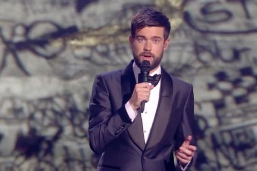Jack Whitehall opens the Brit Awards 2020 with emotional tribute to Caroline Flack: 'She will be sorely missed'